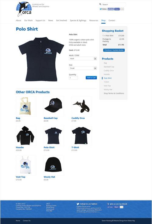 ORCA online shop