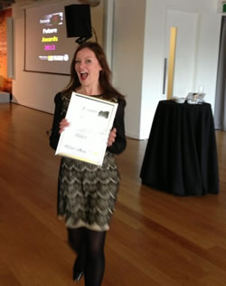 Fifi Bijoux wins young entrepreneur award