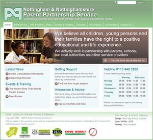 Nottingham and Nottinghamshire Parent Partnership Service