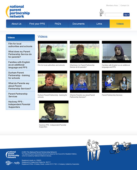 NPPN videos section