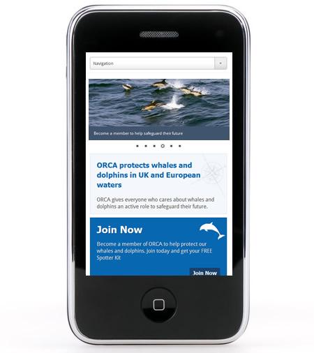 ORCA responsive website