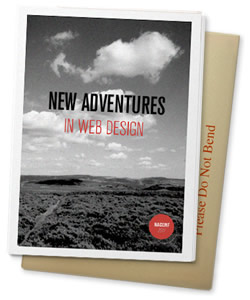 New Adventures in Web Design paper