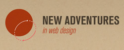 New Adventures in Web Design logo