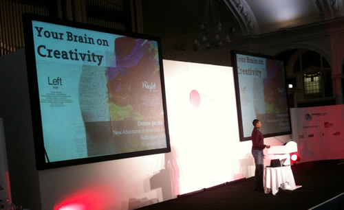 Denise Jacobs speaking at NACONF 2012