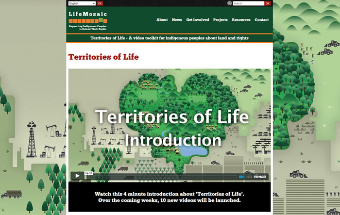 Life Mosaic's Territories of Life