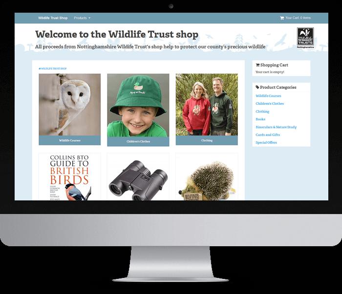 Wildlife Trust online shop
