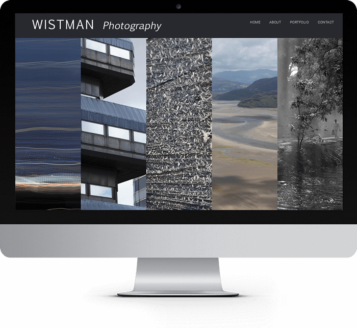 Wistman photography website