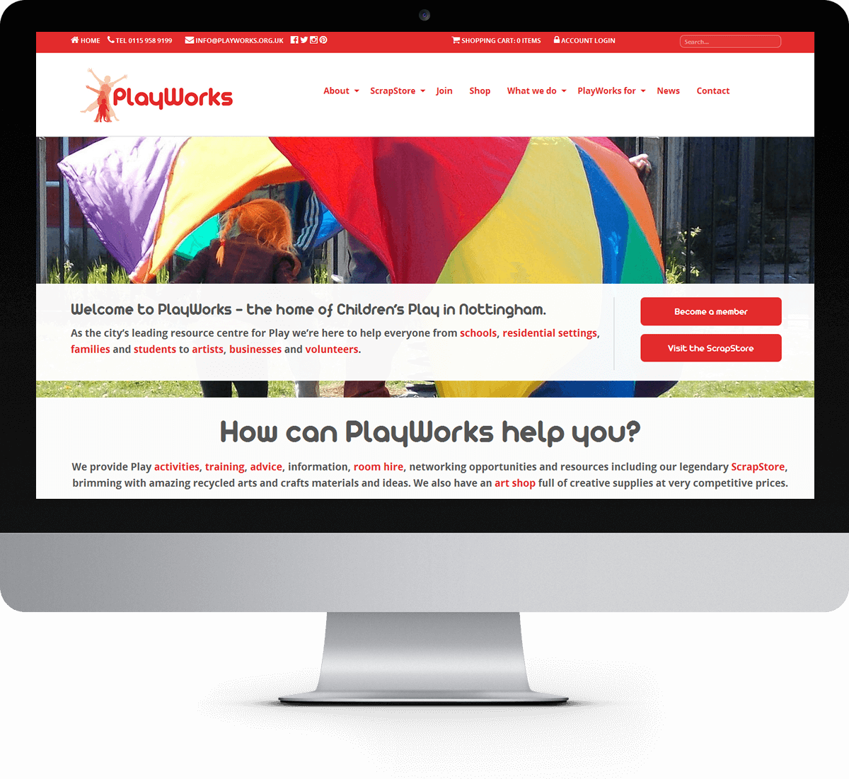 PlayWorks website