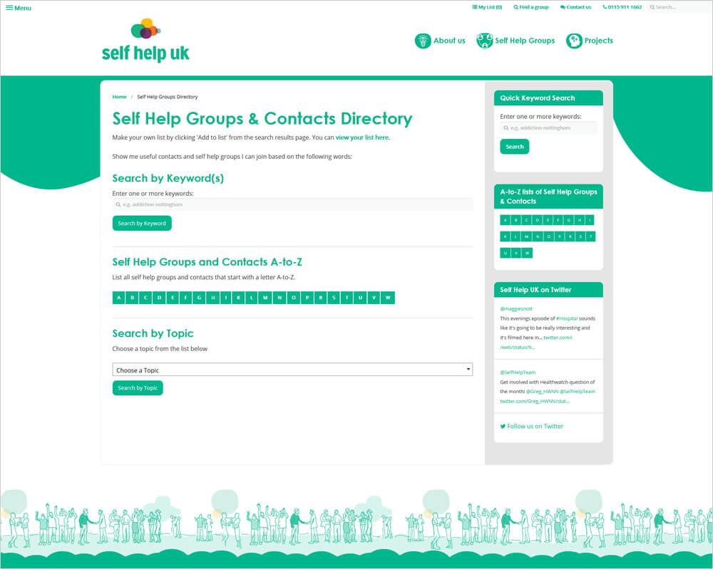 Self Help UK Self Help UK Directory