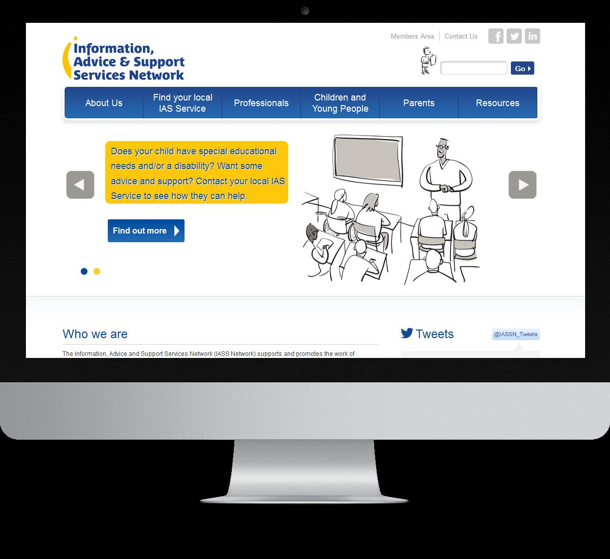 IASS Network website