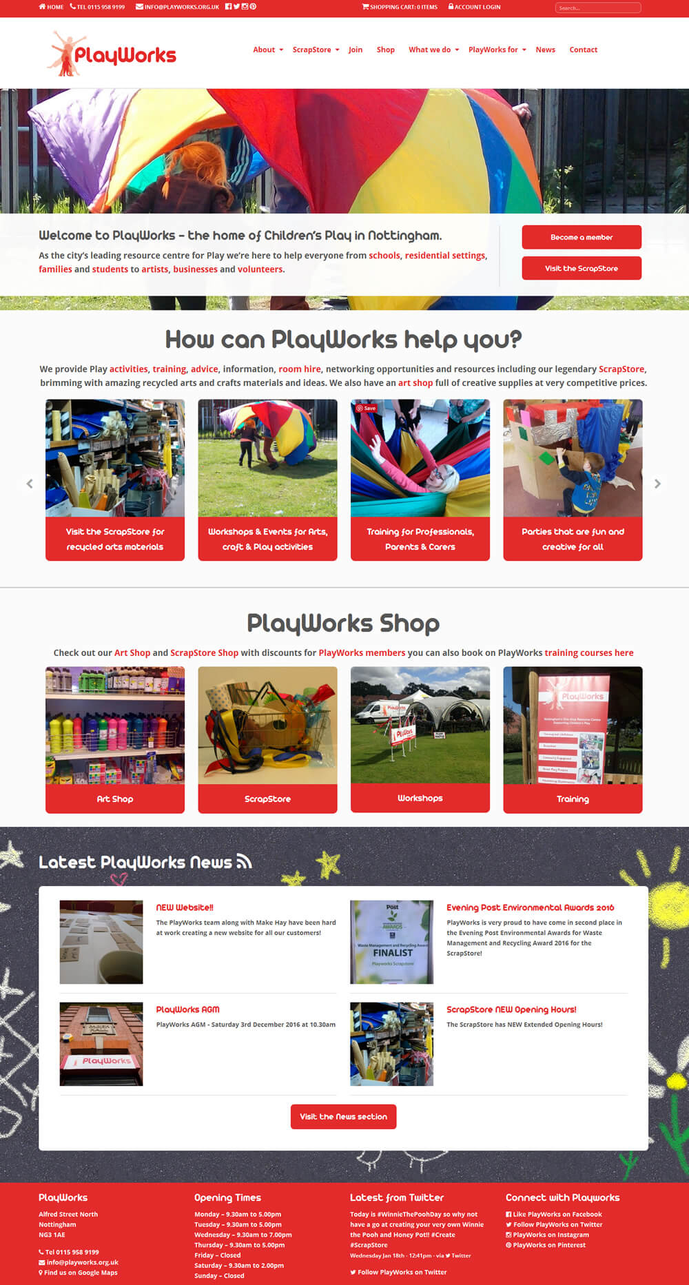 PlayWorks PlayWorks Home Page