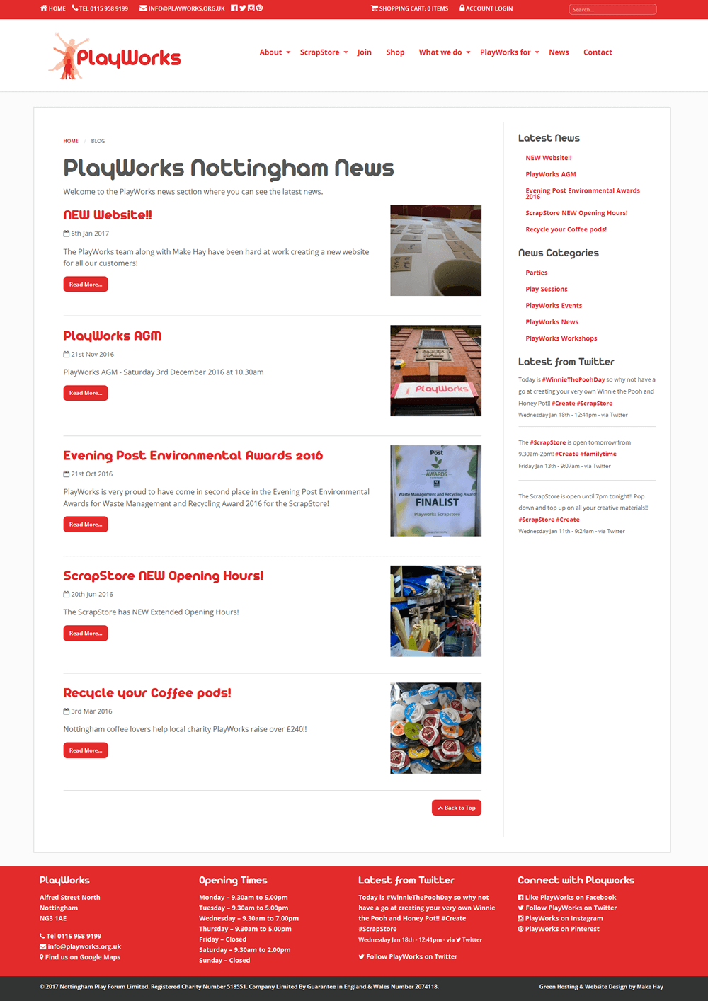 PlayWorks PlayWorks News Archive