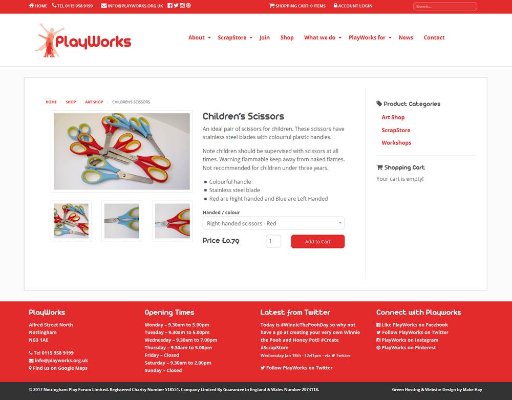 PlayWorks PlayWorks Shop Item