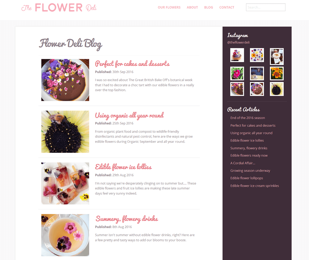 The Flower Deli The Flower Deli blog